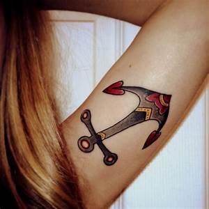 Tatouage Ancre Signification : tatouage ancre de marin 4 inkage ~ Nature-et-papiers.com Idées de Décoration