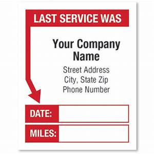 premium check registers white static cling service reminder stickers last