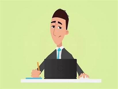 Manager Sales Animation Character Job Hiring Dribbble
