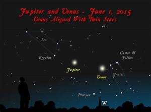 Jupiter and Venus draw closer! | Science Wire | EarthSky