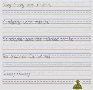 Handwriting Worksheets Maker Kindergarten Handwriting Worksheet Maker Abitlikethis