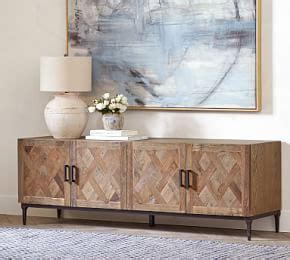 Woodland creek furniture® is your go to source for reclaimed wood rustic furnishings. Parquet Reclaimed Wood Round Coffee Table   Pottery Barn
