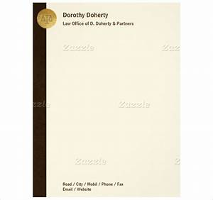 Law office letterhead templates legal government services business card letterhead template spiritdancerdesigns Images