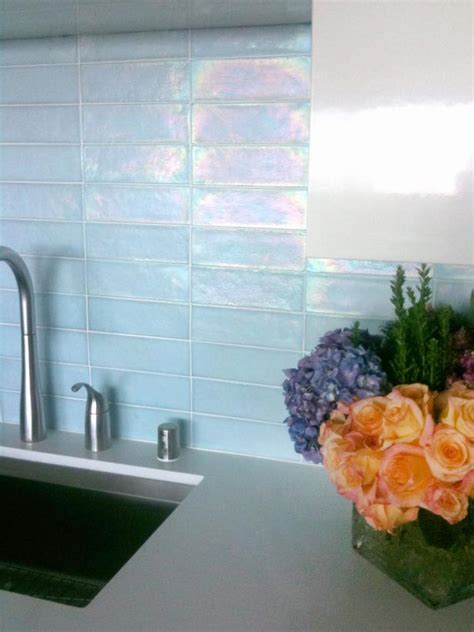 how to a kitchen backsplash kitchen update add a glass tile backsplash hgtv