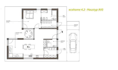 Single Haus Bungalow by Singlehaus Typ A93 106 Atriumbungalow
