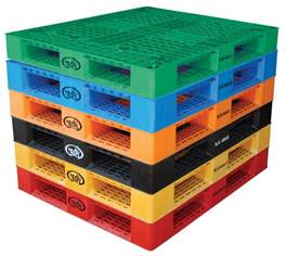 "Vestil 48"" W x 40"" L 6600 lb Capacity Plastic Pallet"