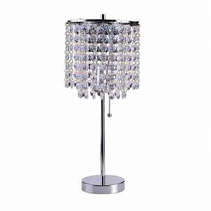 Ore international 8315c 2025 in deco glam table lamp for Floor lamp babies r us
