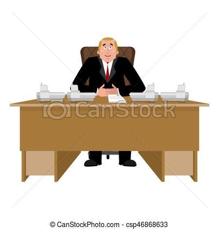 logo le de bureau salle bureau ouvrier desk patron directeur chef
