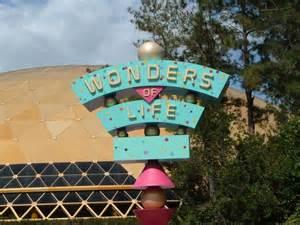 Wonder Life Disney World Epcot