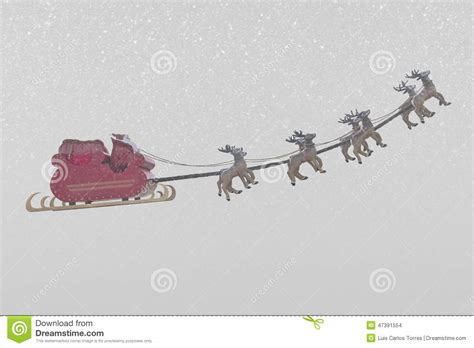 Santa Claus In Snowy Weather By Clairev Santa Claus And Weather Stock Photo Image 47391554