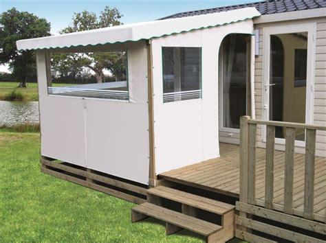 b 226 ches pvc sur mesures pour terrasse de mobil home toit