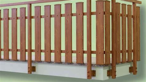 ringhiera in legno per esterni ringhiere in legno per balconi esterni con parapetti e