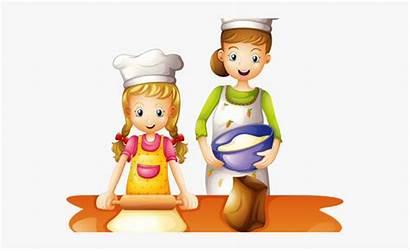 Cooking Clipart Clip Kid Children Cartoon Baking