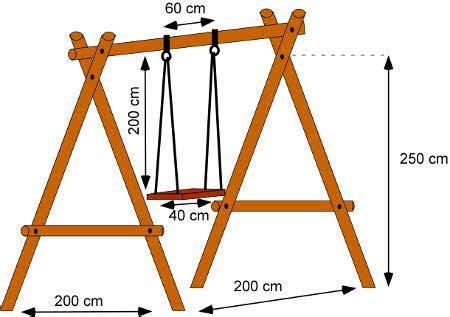holzschaukel selber bauen eine schaukel selber bauen anleitung