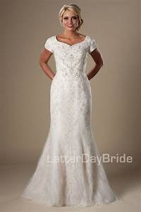 17 best images about modest wedding dresses on pinterest With modest wedding dresses utah