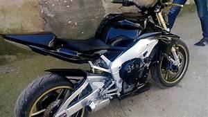Yamaha R1 streetfighter - YouTube