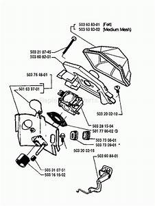 Husqvarna 55 Chainsaw Engine Diagrams