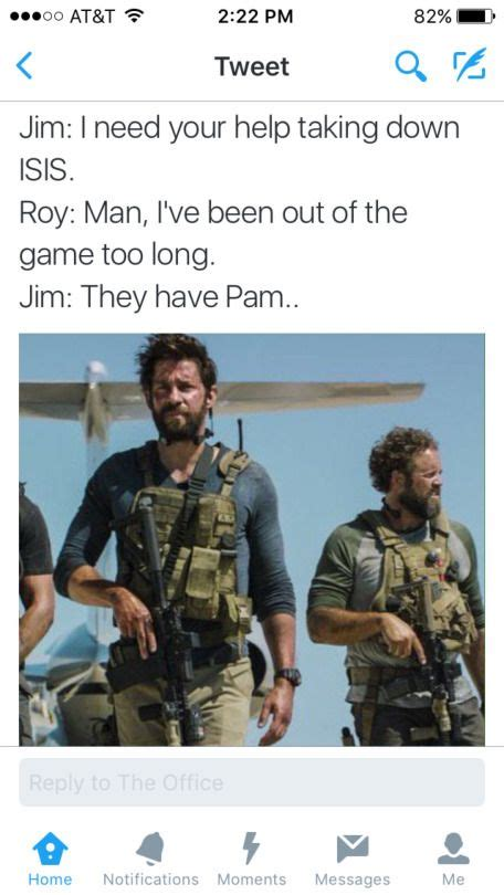 Jim And Roy Save Pam Coming To A Theater Near You
