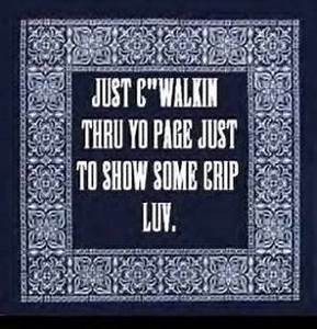 Crip Gangsta Love Quotes. QuotesGram
