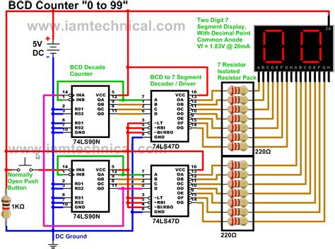 Driving Two Digit Common Anode Seven Segment Display