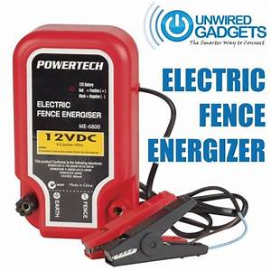 New Electric Fence Energizer Barrier For Animals Security