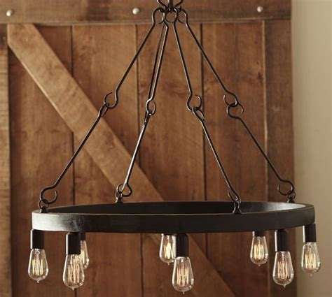iron edison chandelier search decorating