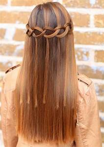 15 Best Waterfall Braid Hairstyles With Pictures Styles
