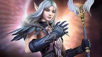 Elf Warrior Fantasy Elves Princess Desktop Wallpapers