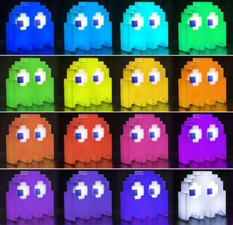 pacman ghost colors pac ghost light the arcade villain lights up