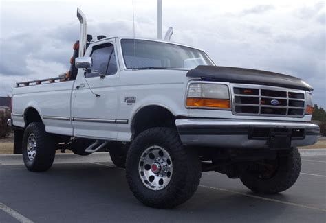 F250 Turbo Diesel Mpg by 1993 Ford F250 Xlt Powerstroke Turbo Diesel 4x4 5 Speed