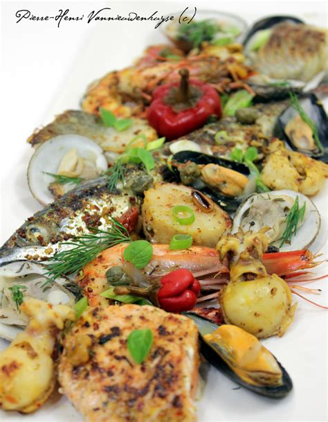recette de cuisine a la plancha parrillada de la mer à la plancha