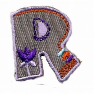 Buchstaben Zum Aufkleben : buchstabe r zum kleben b geln und n hen ~ Watch28wear.com Haus und Dekorationen