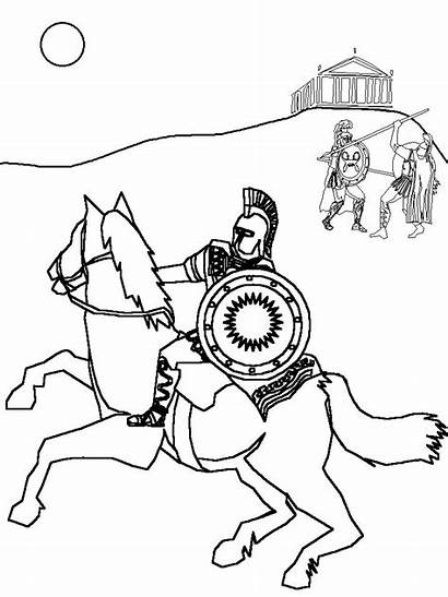 Rome Coloring Pages Roman Coloriage Roma Printable