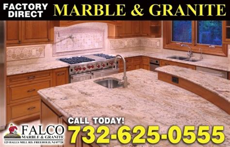 falco marble and granite fabricator in new jersey monmouth