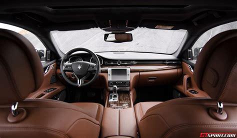 new maserati interior maserati quattroporte gts interior