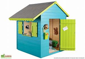 Maison Pour Enfant En Bois : cabane enfant bois exterieur ~ Premium-room.com Idées de Décoration