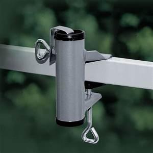 Sichtschutzmatten Für Zäune : sonnenschirmhalter videx f r balkon handlauf aluminium ~ Whattoseeinmadrid.com Haus und Dekorationen