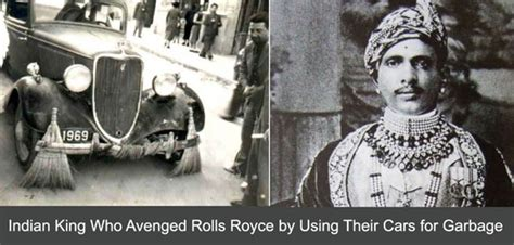 indian king  bought rolls royce cars