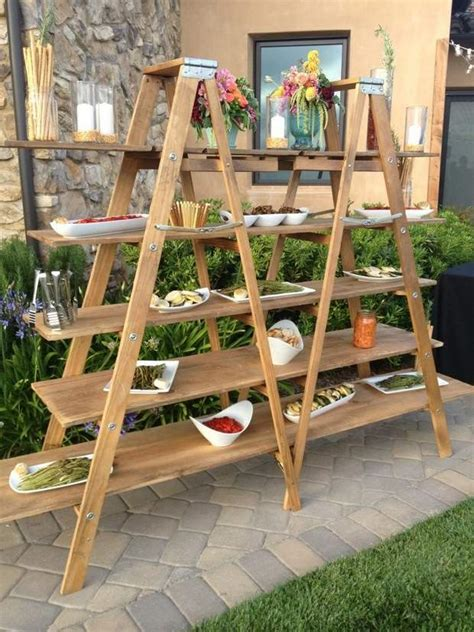 ladder display shelf upcycled ladder shelves and creative display ideas