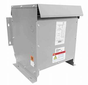 25 Kva Isolation Transformer - 480v Primary - 120  240v Secondary - Nema 3r