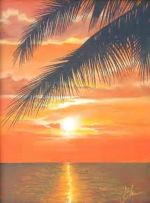 Beginner Acrylic Painting Sunset