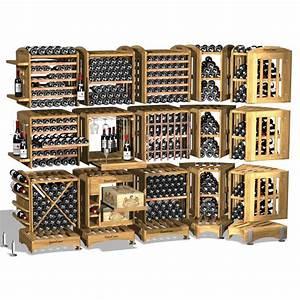 Rangement Bouteille De Vin : moduloth que rangement de cave vin modulable en ch ne massif eurocave ~ Teatrodelosmanantiales.com Idées de Décoration