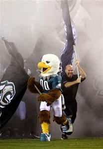 Philadelphia Eagles Mascot Swoop