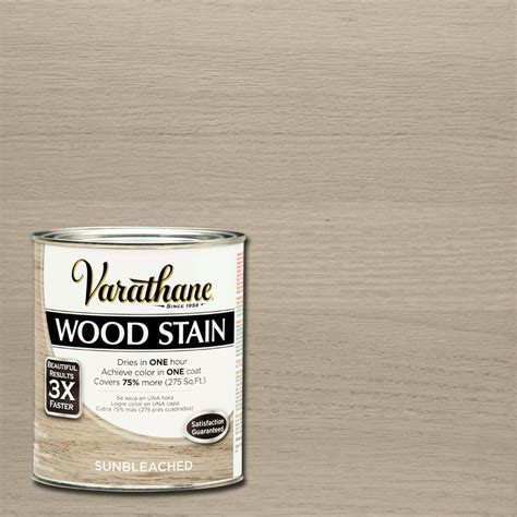varathane 1 qt 3x sun bleached premium wood interior stain 2 pack 266156 the home depot