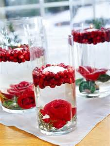 floating candle centerpiece ideas decorating with cranberries midwest living