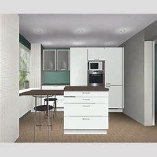 Kleine Küche Und Fenster Mit Niedriger Brüstungshöhe