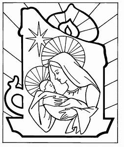 Baby Jesus Manger In Bethlehem Coloring Page Religious P