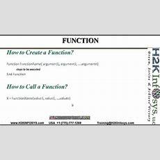 Qtp How To Write Vb Functions Vb Script,qtp Automation Testing, Qtp Vb Script, Qtp Video