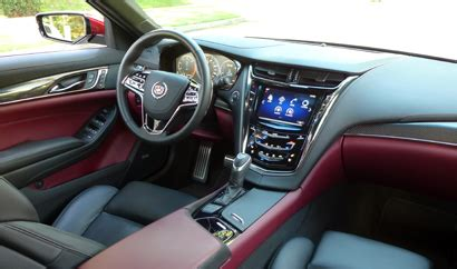 cadillac cts  premium collection  interior