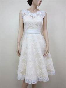 nice a line pretty girl short wedding dress with belt With short lace wedding dress